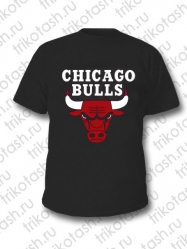 Футболка мужская Чикаго булс