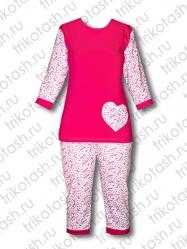 Пижама с сердечком