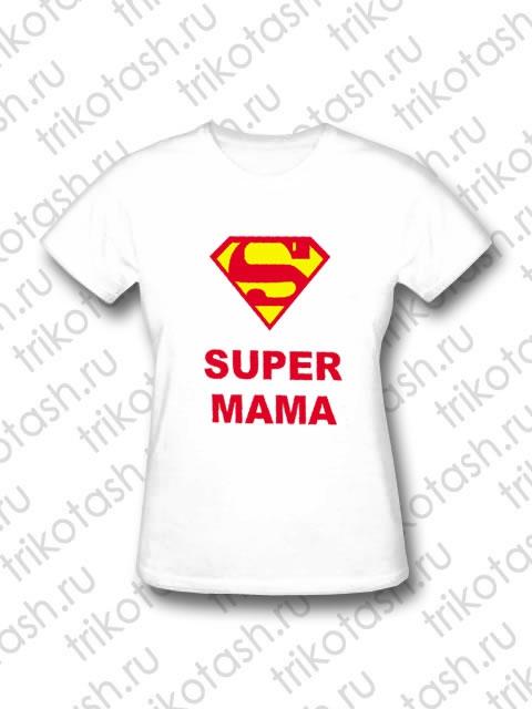 Футболка женская Super Мама