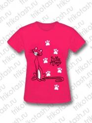 Футболка женская Pink pussy