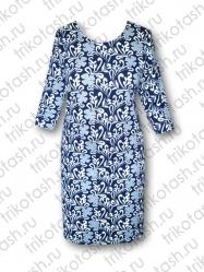 Платье классика хопок-стрейч