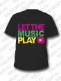 Футболка мужская Let the music play