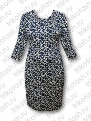 Платье Кокетка хопок-стрейч