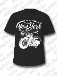 Футболка мужская New York чёрная