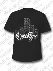 Футболка мужская Brooklyn чёрная