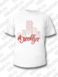 Футболка мужская Brooklyn белая