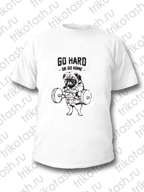 Футболка мужская Go hard